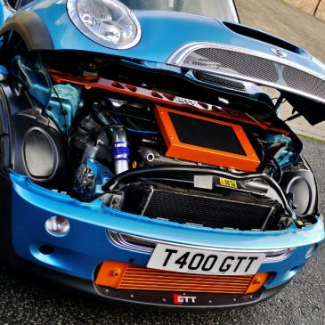 GTT R53 Fitted Turbo conversions