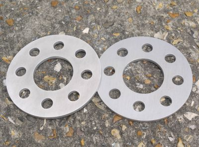 Abarth 500 GTT 6mm Alloy Wheel Spacers