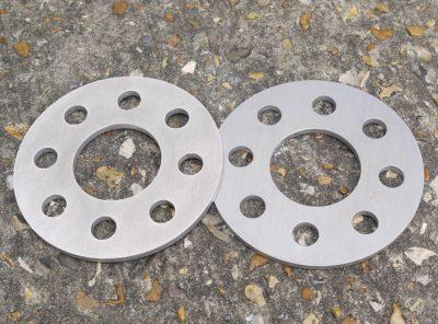 Abarth 500 GTT 6mm Alloy Wheel Spacers
