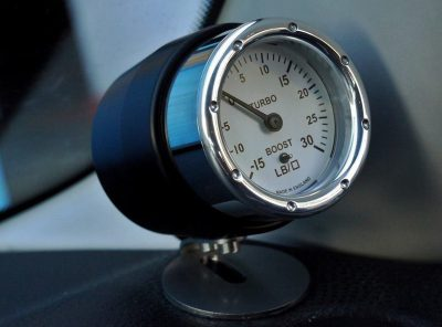 Abarth 500 GTT Boost Gauge & Pod 'Limited edition'