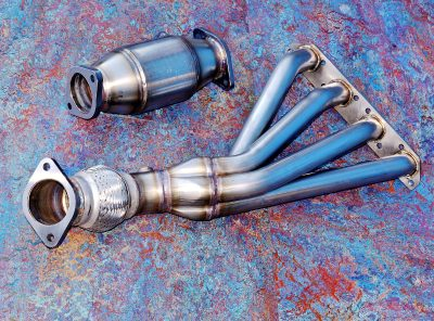 Mini Gen 1 GTT Sports Manifold + Removable Cat Section (Stainless Steel)