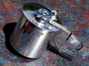 Mini Gen 2 GTT Pro Alloy Expansion / Header Tank & High Pressure Cap.
