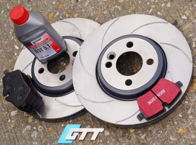 Mini Gen 2 GTT Spiroslot Front Brake Kit for Cooper S (294mm Dia)