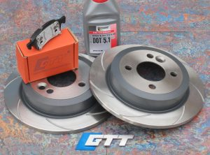 Mini Gen 2 GTT Spiroslot Rear Brake Kit