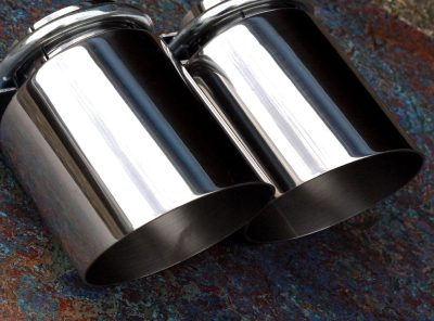 Mini Gen 1 GTT Slash Cut Exhaust Tips (Pair)