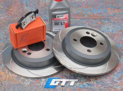 Mini Gen 1 GTT Rear Spiroslot Brake Kit