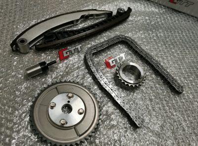 Mini Gen 1 GTT Adjustable Vernier Cam Sprocket V2 & Timing Chain / Tensioner Kit