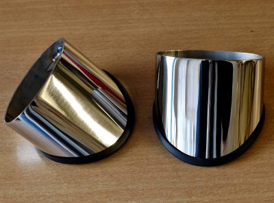 GTT AUDI TT MK1 STAINLESS STEEL MIRROR STALKS