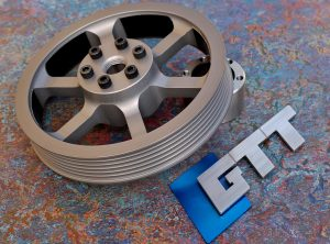 Mini Gen 1 GTT Lightweight Crank Pulley V2