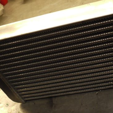 GTT Intercooler and GTT Oil Catch Can