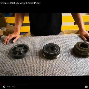 GTT Performance R53 Light weight Crank Pulley – Interesting Facts