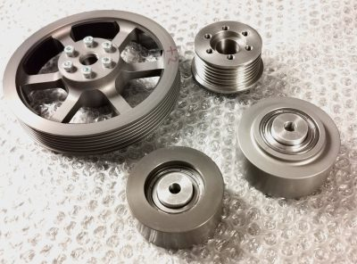 "4) Gen 1 R53/R52 Mini Cooper S ""4 Piece"" Pulley Upgrade kit! DEAL PRICE! Save £27!"