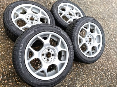 Mini 16″ X-Lite R84 Alloy wheels and winter tyres