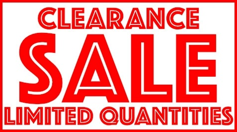 CLEARANCE New & Used